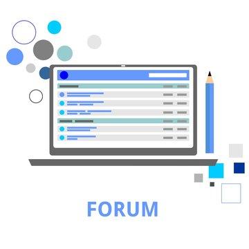 vector - internet forum