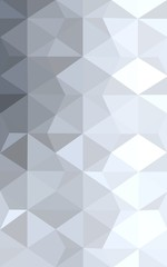Gray polygonal design pattern, which consist of triangles and gradient in origami style.