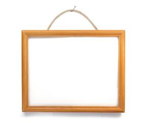 photo frame isolated on white