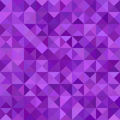 Purple color triangle mosaic vector background