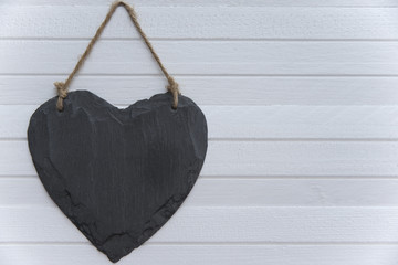 Heart on the plank
