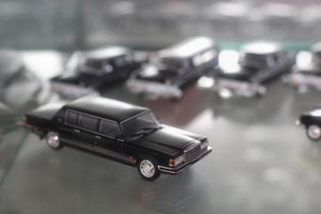 Scale model Soviet Government car