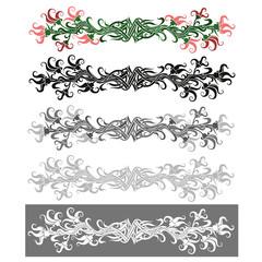 Floral Ornament. Vector Illustration