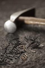 Tools in a cobbler's shop