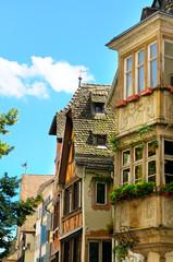facades of old houses (Strasbourg, France)