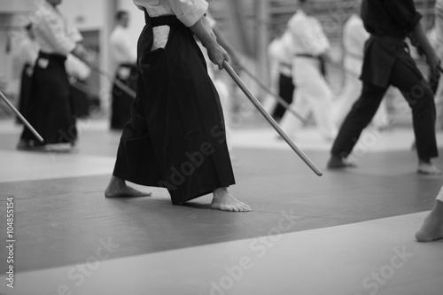 Japanese sword-fighting