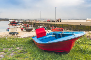 Fishing boats on Cabodeiro dock