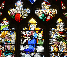 Longueil, France - july 17 2015 : the church