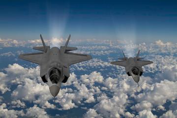 F-35 modern stealth fighter