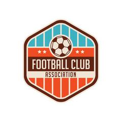 football crests and logo emblem