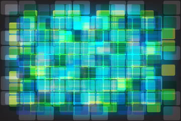 abstract rectangular rounded corners
