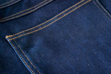 Blue Jeans Closeup Texture Background/ Blue Jeans Closeup Macro Textile Texture Background