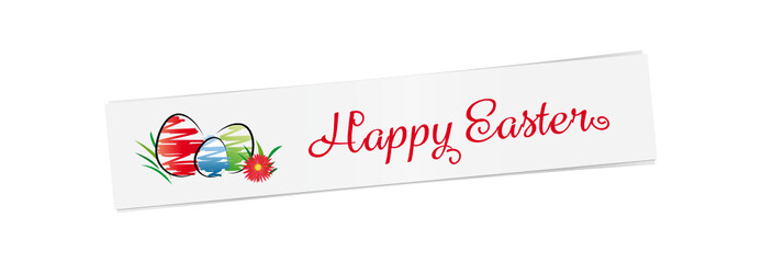 happy easter -banner