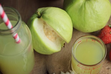 fresh guava fruit juice