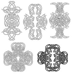 set celtic tatoo