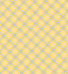 Tender checkered  yellow blue background