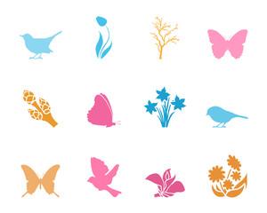 Symbole Frühling - Farbe
