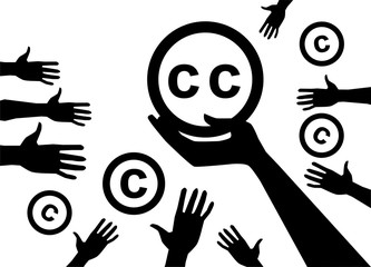 Conception Creative commons  licenses