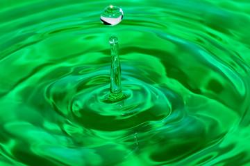 surface liquid drop