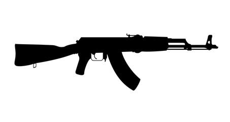 Machine gun - AK 47