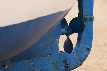 Hélice de barca