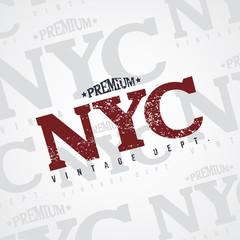 new york varsity theme