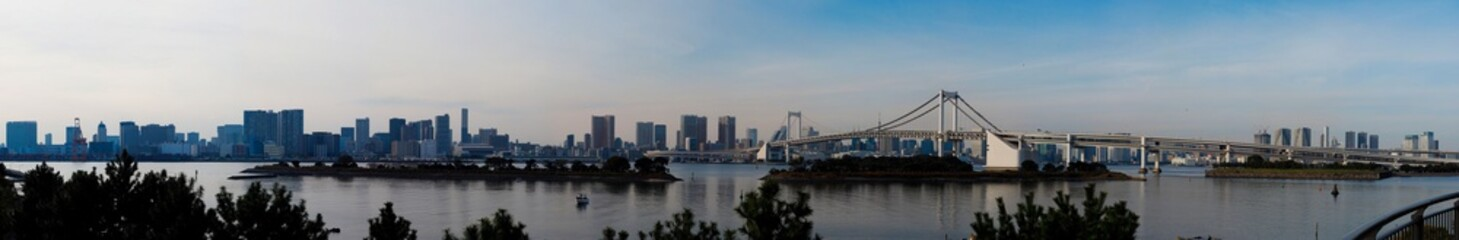 Tokyo bay from Odaiba