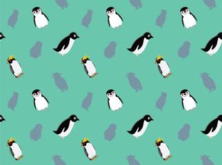 Penguin Wallpaper Vector Illustration 2
