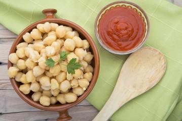 Ingredients for cooking torrijas