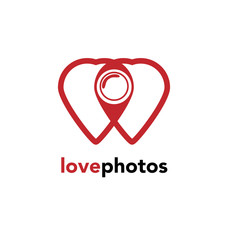 Photography logo love photos