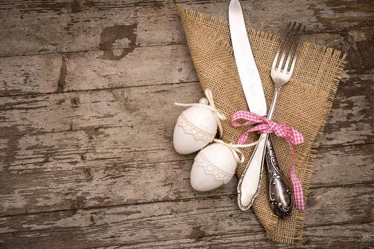 Ostermenü rustikal