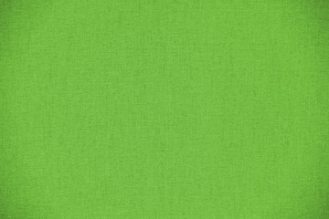 green detail of empty fabric textile texture background