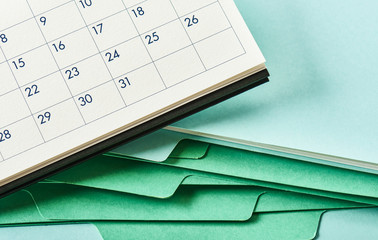 Office supply and calendar.