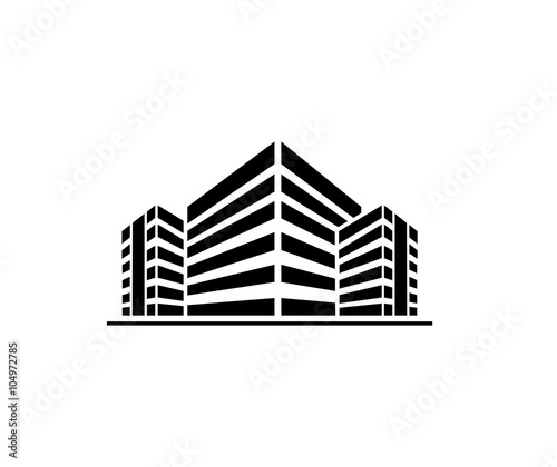"""""""Buildings logo"""" Stock image and royalty-free vector files on Fotolia.com - Pic 104972785"""