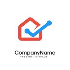 house logo icon vector