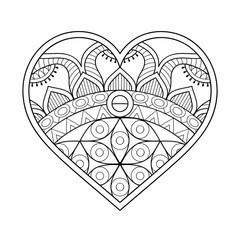 Vector ornamental Heart