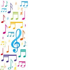 affiche,notes de musique