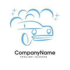 Car Wash logo icon Vector