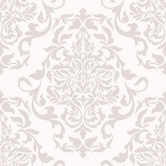 Damask beautiful background with rich, old style, luxury ornament