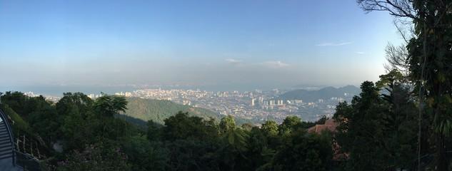 Penang Hill panorama