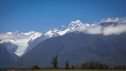 Blick auf die Südalpen Neuseeland
