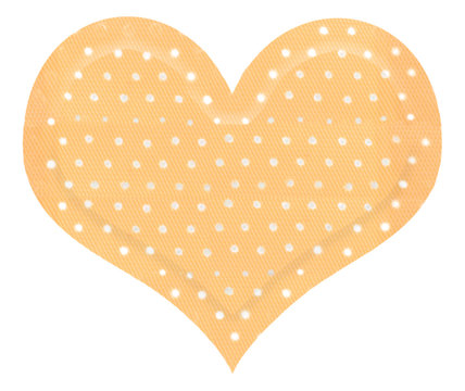 pansement forme coeur