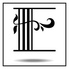 Letter E - Script