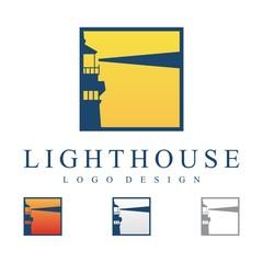 Lighthouse Sunrise Logo