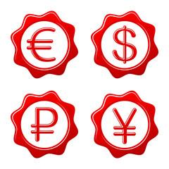 Sealing wax currency