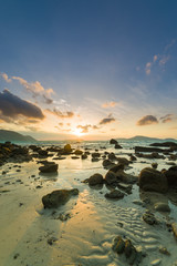 sunrise from Rawai south Thailand