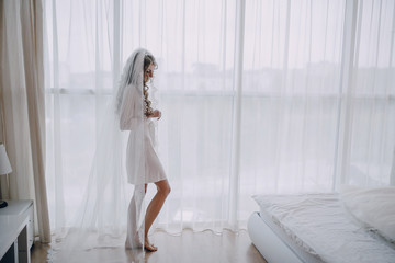 morning bride inside