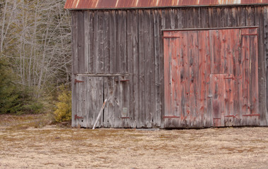 old barn in the country, Nova Scotia