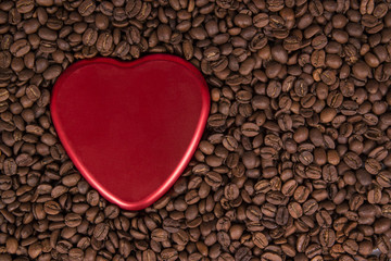 coffee and love concept