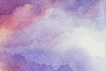 art abstract background watercolor on paper